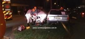 ACIDENTE: Homem bate carro em árvore exatamente um ano após escapar de incêndio em sua casa!