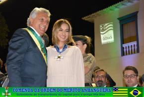 Juíza Patrícia Carrijo recebe a mais alta condecoração oferecida pelo Governo do Estado de Goiás por seus relevantes serviços prestados ao Estado