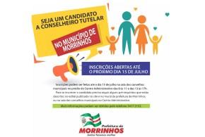 Eleição ao Conselho Tutelar: Inscrições abertas para os interessados até 15 de julho, em Morrinhos!