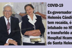 Helenês Cândido é intubado no Hospital Municipal de Morrinhos e transferido para Santa Helena