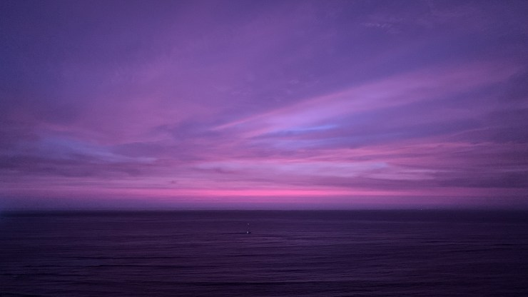 Sunset in Barranco - Lima