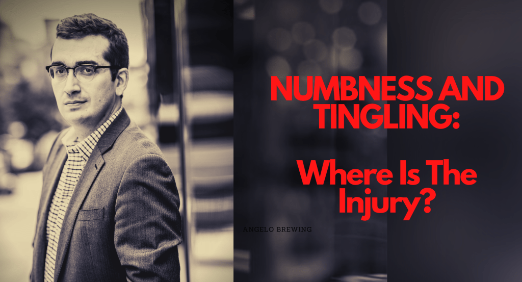 Winchester personal injury attorney for numbness