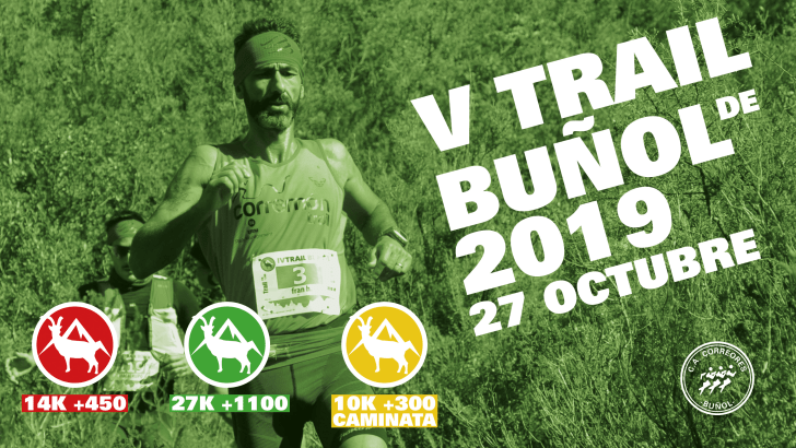 V Trail de Buñol – 27 Octubre 2019