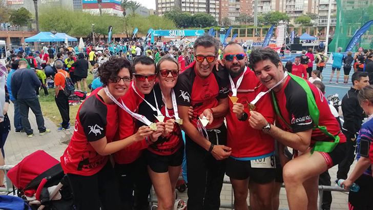 Ekiden Valencia Maratón Relevos 2018