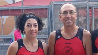 Ramón Ginés y Elena Cambres logran el podio en el Circuito Diputación