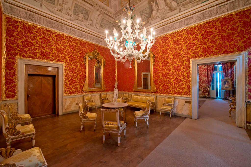 Stanze dellImperatrice Elisabetta  Percorsi e Collezioni
