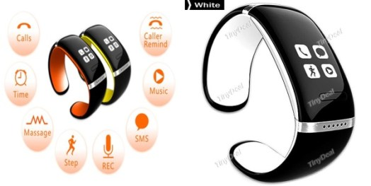 Smart LED Watch Bluetooth 3.0 Bracelet Call Answer SMS Reminding Music Player