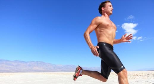 correr com calor