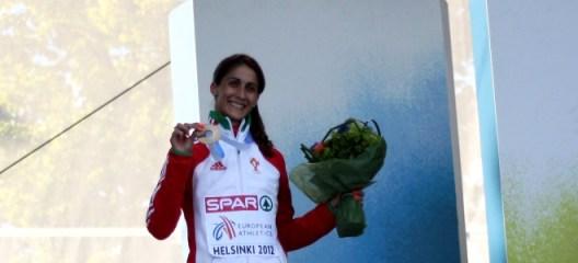 Sara Moreira medalha de Bronze
