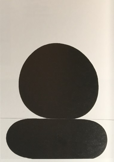 "Gary Kuehn ""Black painting, 1972"""