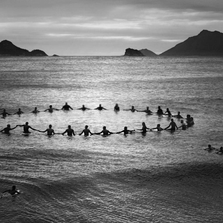 Paddle Out, Recreio dos Bandeirantes, 2013