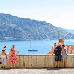 Cidade de Menton na Côte d'Azur