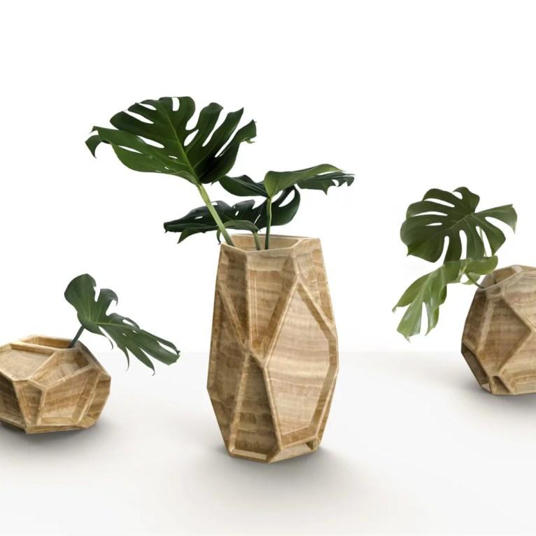 Negative Space Vases desenhados para a Citco
