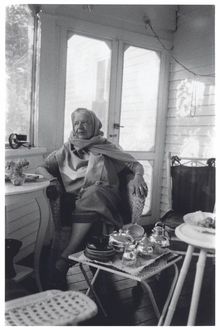 Retrato íntimo de Marguerite Yourcenar