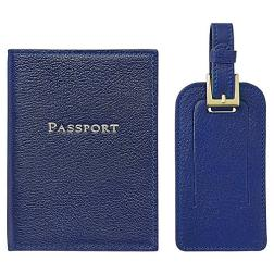 Jet Set Slim Passport Case & Luggage Tag