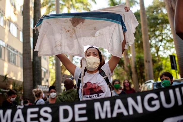 BRAZIL-HEALTH-VIRUS-POLICE-VIOLENCE-RACISM-PROTEST