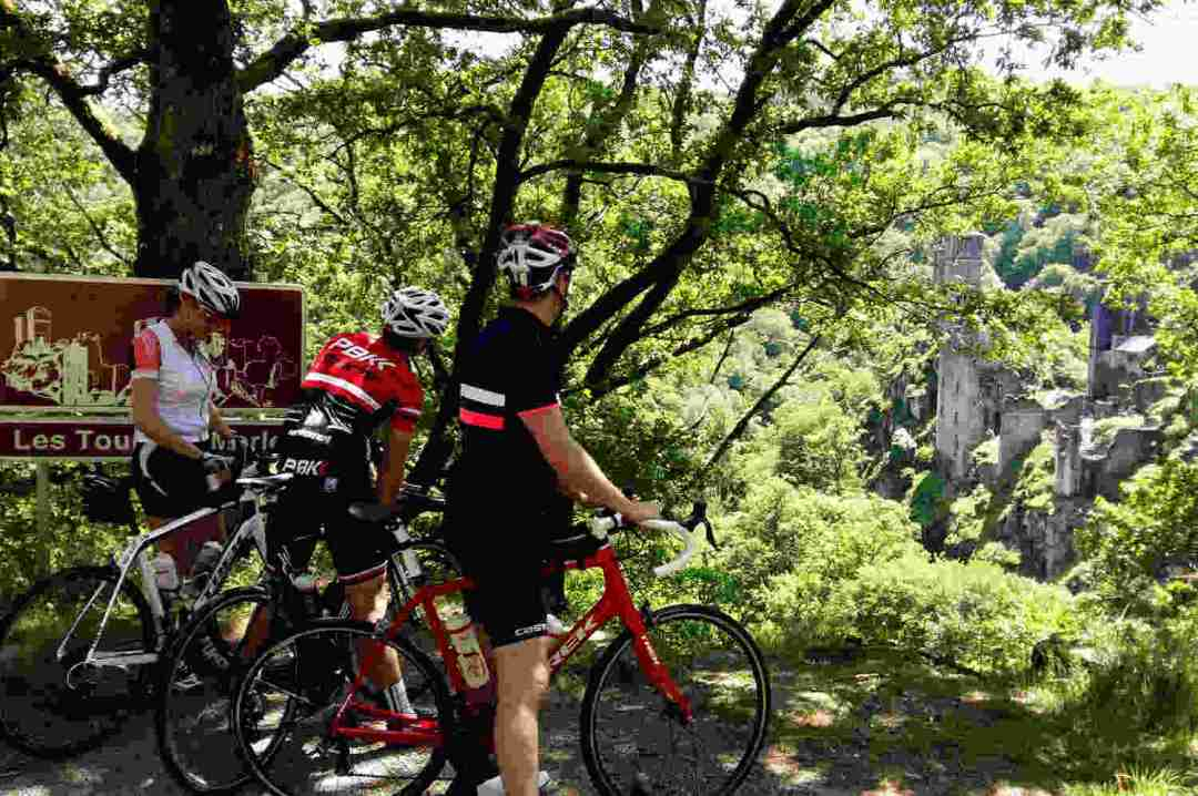 Tours de Merle with Correze Cycling Holidays France