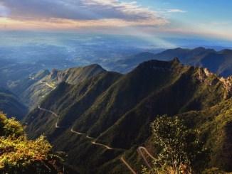 Serra do Rio do Rastro, palco da Mizuno Uphill Marathon