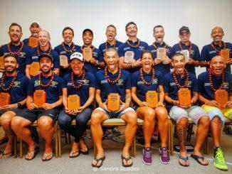 Os triatletas da quarta edição da UB515 Brasil Ultra Triathlon. Foto de Sandra Guedes/Divulgação
