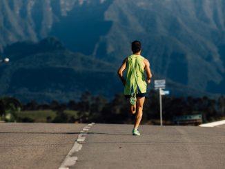 Corredor na Mizuno Uphill Marathon. Foto de divulgação