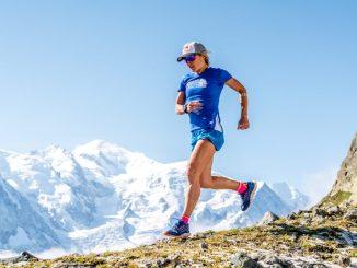 Fernanda Maciel treina em Chamonix, na França, para a UTMB 2018. Foto de Mathis Dumas / Red Bull Content Pool
