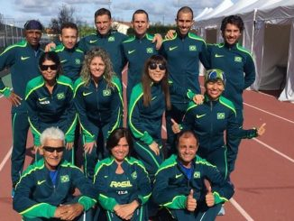 Seleção brasileira de 24 Horas, que vai disputar o Mundial, em Albi, na França