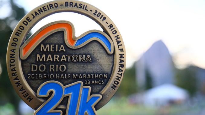 Covid obriga a transferência da Meia Maratona Internacional do Rio 2020 para agosto de 2021. (Divulgação)