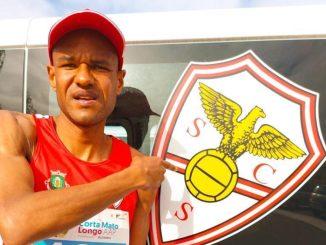 Paulo Paula, qualificado para a maratona dos Jogos Olímpicos de Tóquio, venceu os 10km da Corta Mato Longo AAP, na cidade de Felgueiras, em Portugal, em 31m12s. (Divulgação)