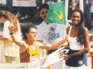 Roseli Aparecida Machado, atleta olímpica e campeã da Corrida de São Silvestre em 1996. (Tião Moreira:Divulgação)