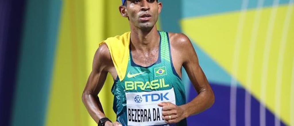 No Sul-Americano de Maratona. Wellington Bezerra da Silva vai para Assunção atrás do índice olímpico para as Olimpíadas (Divulgação)