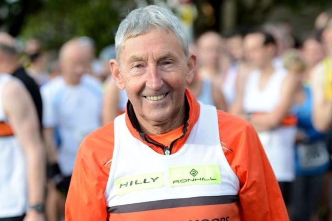 Ron Hill correu diariamente durante 52 anos e 39 dias, entre 1964 e 2017. (runhil.com)