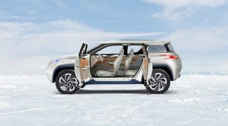 Nissan presenta il concept SUV elettrico TeRRA