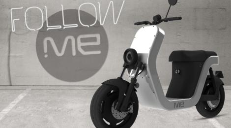 Me quando lo scooter elettrico incontra il Made In Italy con stile
