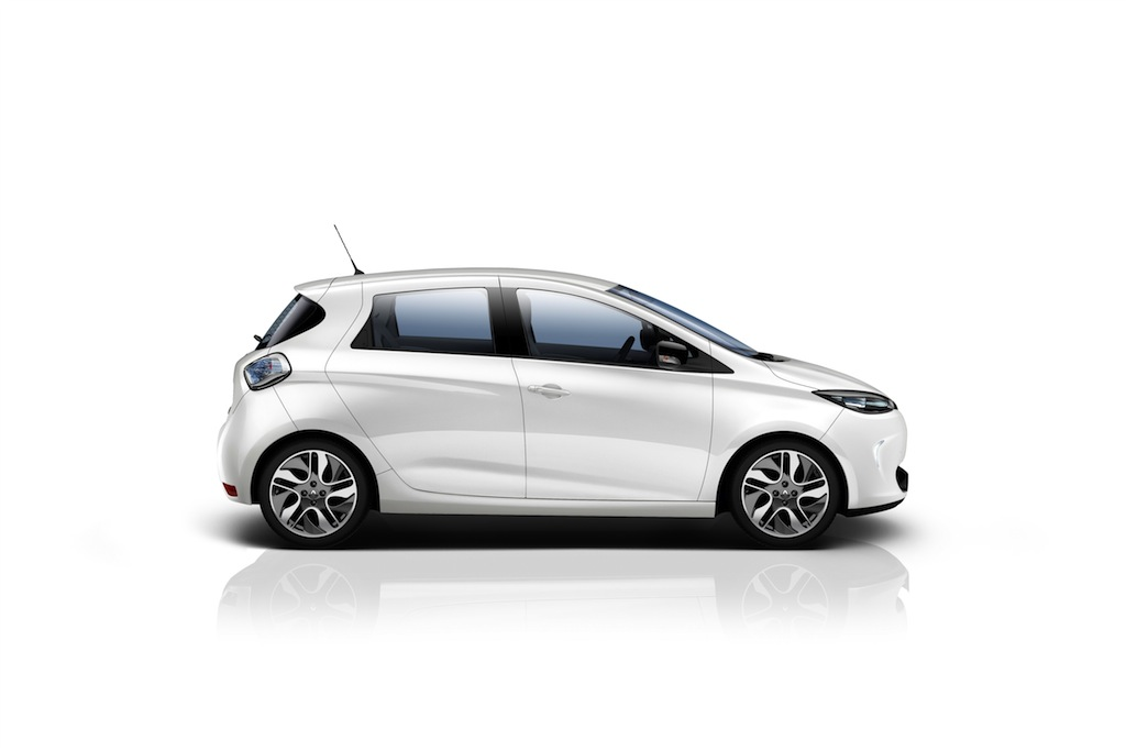 Renault Zoe laterale