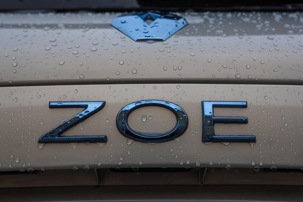 Renault Zoe logo