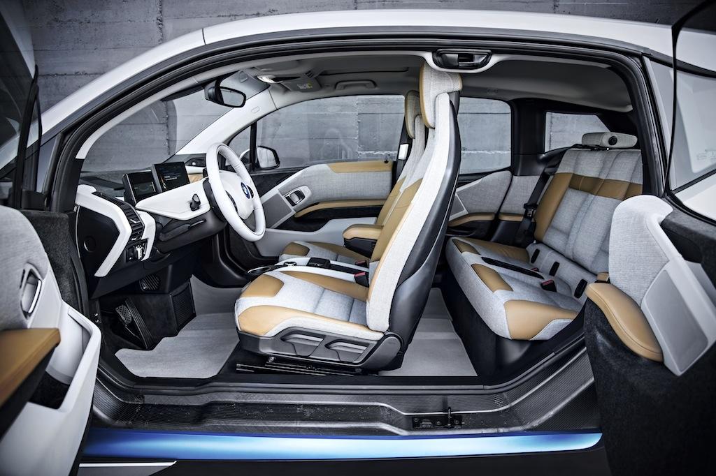 BMW i3 interni