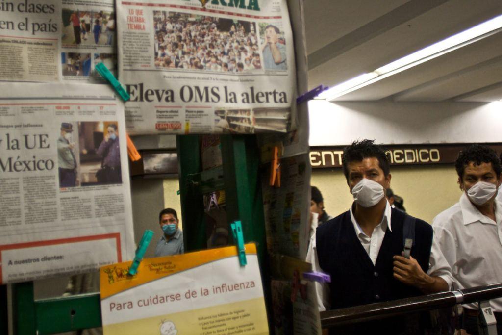 El Metro en la pandemia de influenza