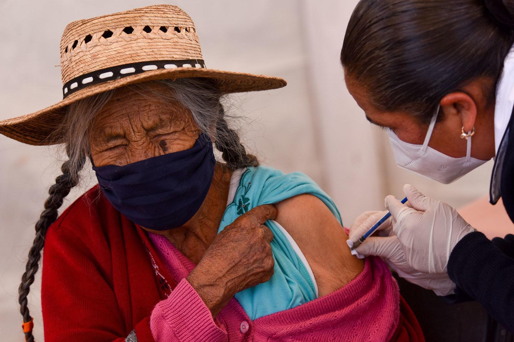 vacunación de mayores de 60 años, coronavirus