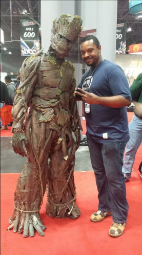 What's it like volunteering at Comic Con New York 2014