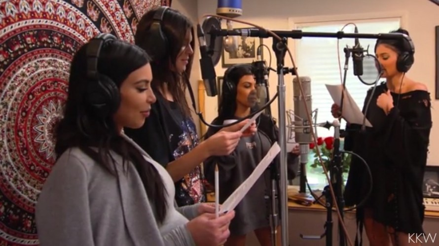 My kids better do this when im 60! – The Kardashians record a music video for their mom