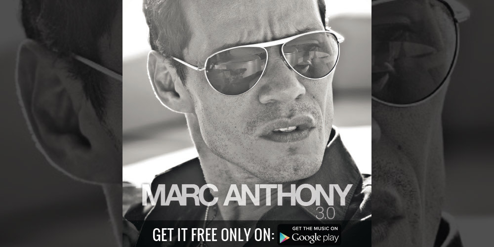 Woah! Sony giving free copies of Marc Anthony's 3.0 away for free on google play!