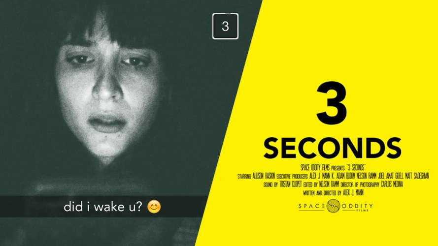 3 SECONDS (Snapchat horror short film)
