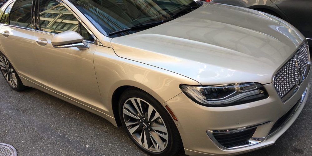 Test Driving the Lincoln MKZ in New York City #QuietLuxury
