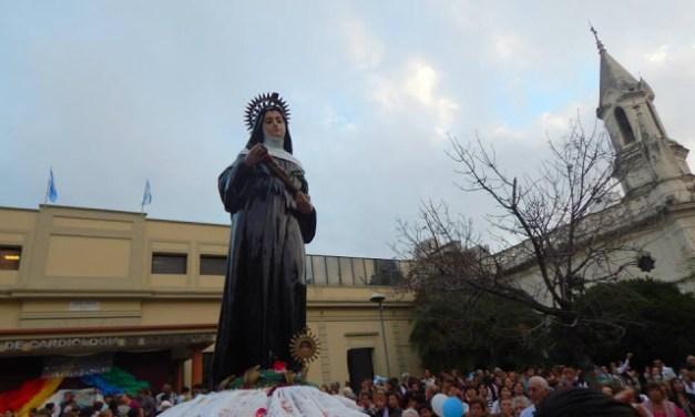 """Fiesta de Santa Rita, la Patrona de los Imposibles """"Santa Rita, ayúdanos a ser misericordiosos"""""""