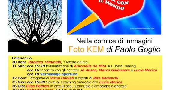 Paolo Goglio presenta: Amore con il mondo, mostra artistica