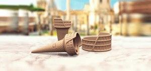 Linea Colosseum – un gelato artigianale, made in Italy, di altissima qualità