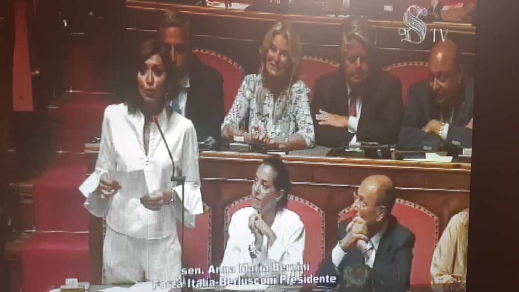 """BERNINI DUELLA CON CONTE:PRESIDENTE DEL CONSIGLIO  LEI DOVE ERA""""? L'ANTIDOTO PER LA STABILITA' POLITICA E' IL VOTO."""