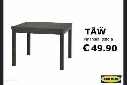 Il Catalogo Ikea Impazza Sul Web Ma è Quello In Dialetto