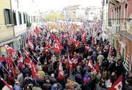 Manifestazione sindacale in piazza (archivio)