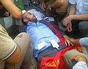 Il consigliere comunale Beppe Caccia dopo gli scontri